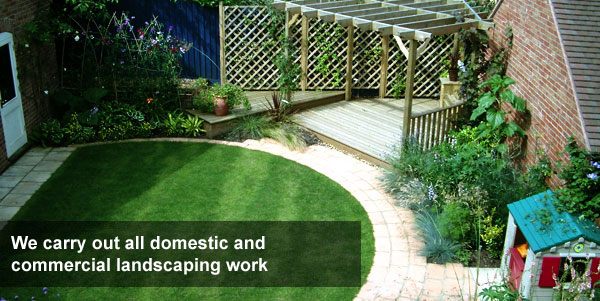 Garden design northampton market harborough wellingborough for Domestic garden ideas